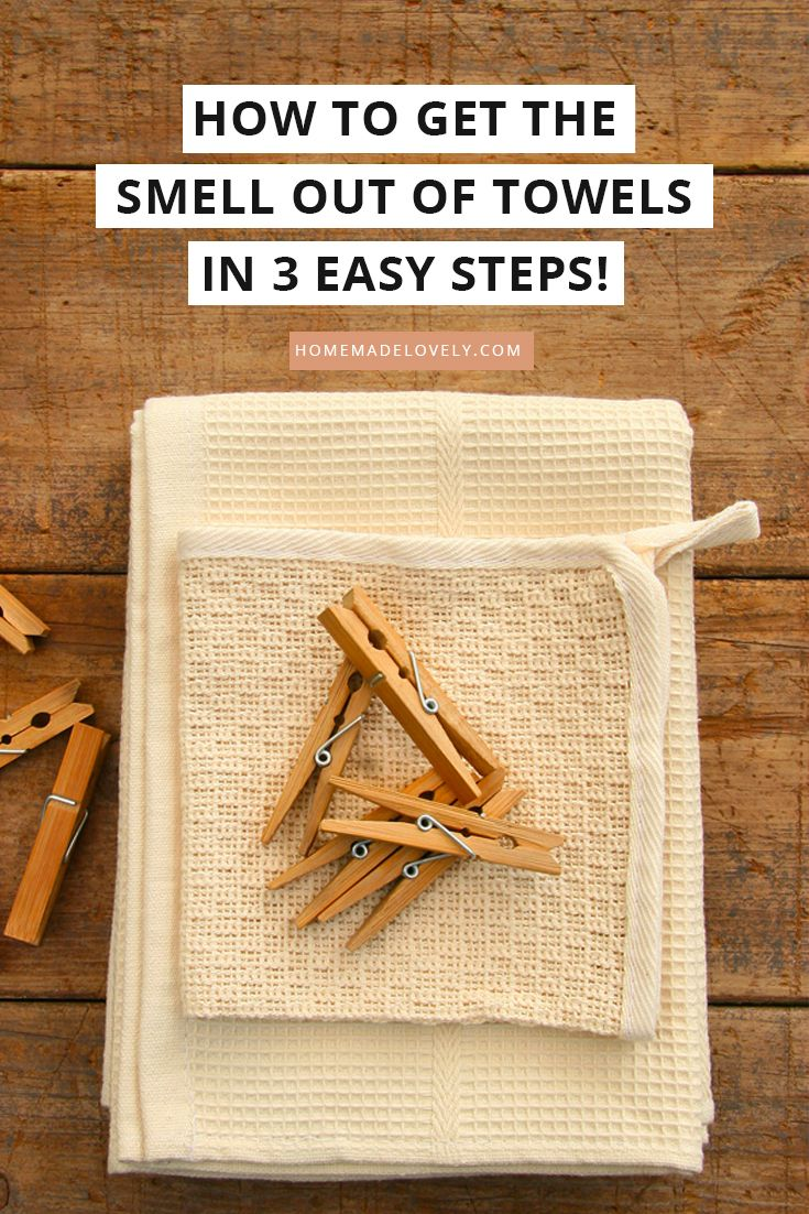 How to Get the Smell Out of Towels in 3 Easy Steps ...