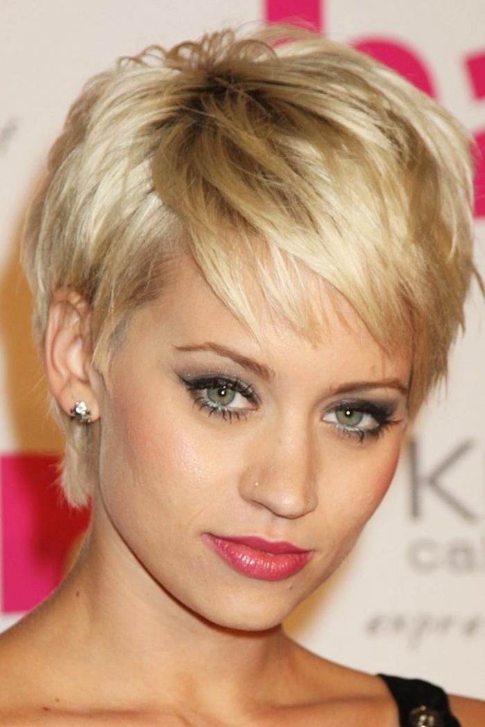 Hairstyles For Heart Shaped Faces Cute Short Hairstyles For