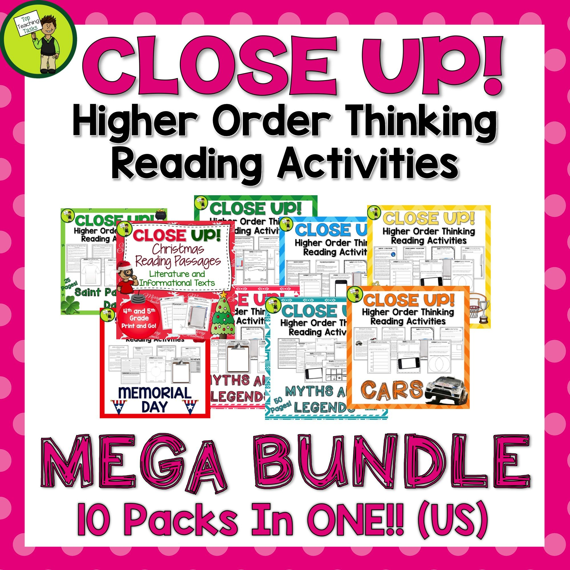 This Close Up Growing Mega Bundle Features Reading Comprehension Passages With Reading Comprehension Passages Reading Comprehension Close Reading Comprehension [ 2000 x 2000 Pixel ]