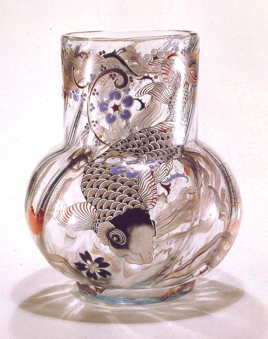 nae-design:  Émile Gallé | 1846 – 1904 French artist known as Le magicien du verre or magician of glass. He was one of the major forces in the French Art Nouveau and Japonisme movement.