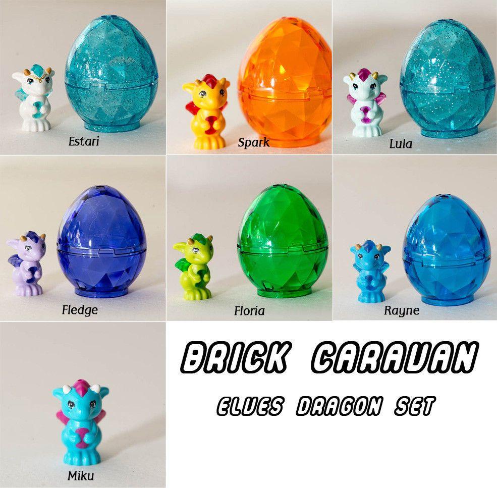 Lego Elves Baby Dragon Set W Egg Estari Floria Rayne Lula