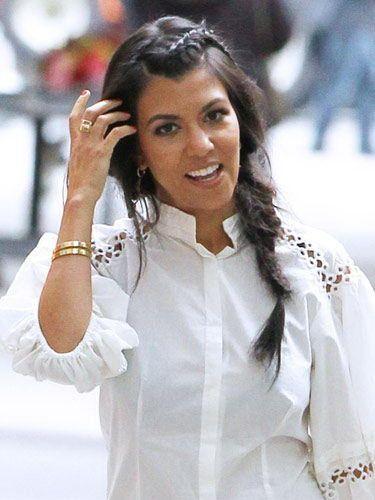 Summer Braids 2017 Kourtney Kardashian Hairstyles Sideways French