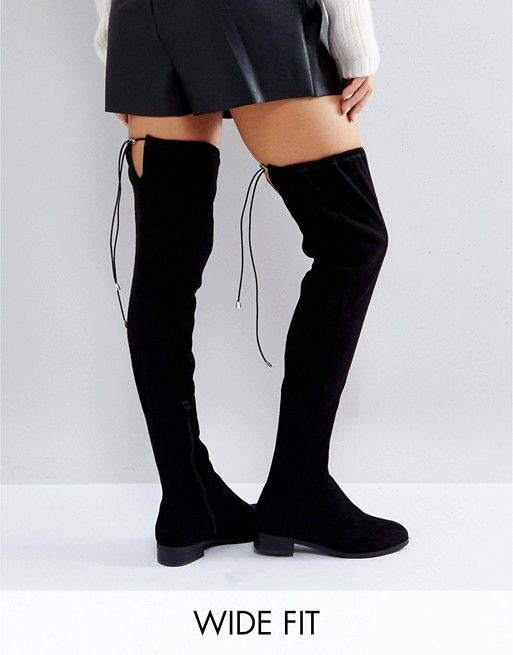 a12c0727f6d KEEP UP Wide Fit Extra Wide Leg Over The Knee Boots | Fashion ...