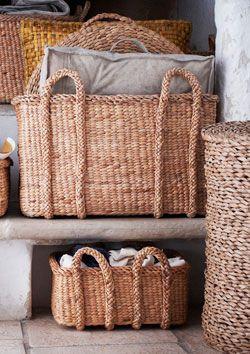 Double Handle Storage Basket