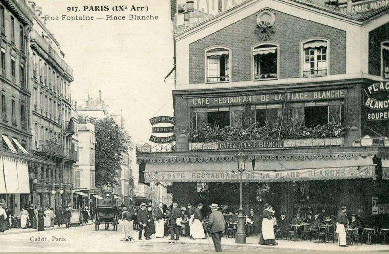 "Image result for ""Place Blanche"" paris"