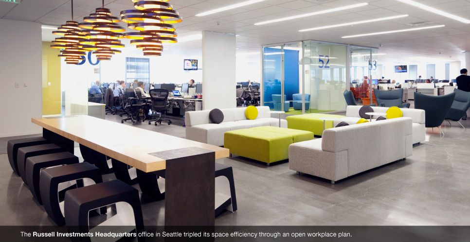 Corporate Offices NBBJ Collaborative Space Pinterest - innovatives interieur design microsoft