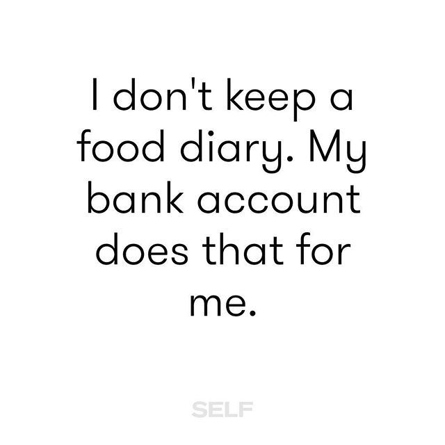 My bank statements donu0027t lie #DownToEat #TeamSELF Funnies - bank statements