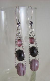 Lampwork  - Earrings