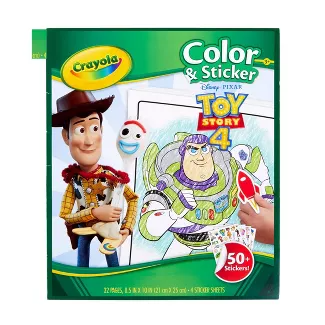 Toy Story Toys Target Coloring Stickers Crayola Toys Toy Story Coloring Pages