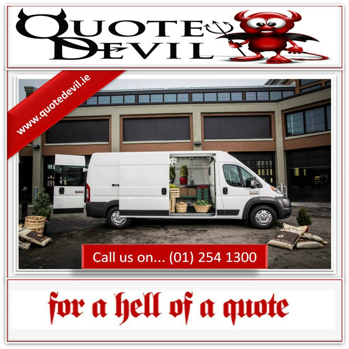 Commercial Auto Insurance Quotes Delectable Pinquote Devil Car Insurance On Van Insurance  Pinterest