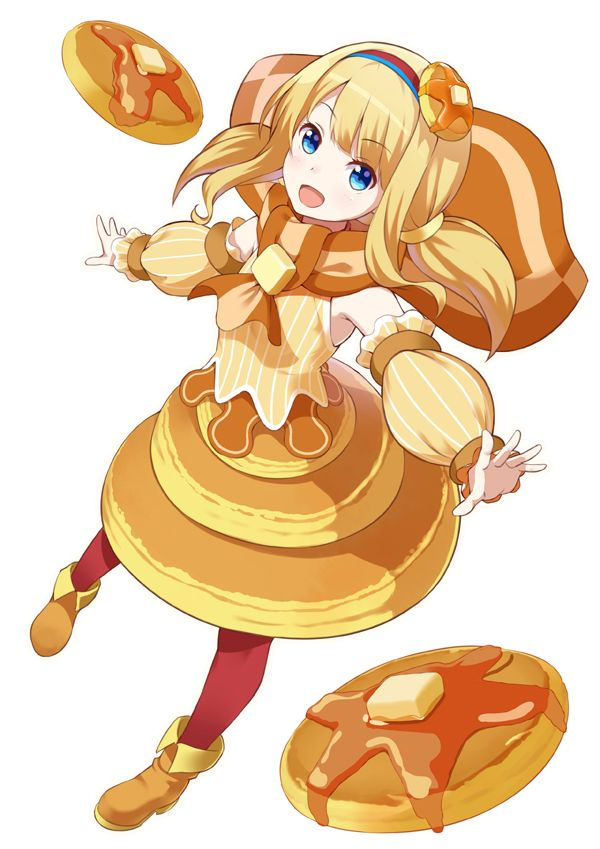 Huyumitsu 1987813 Food Themed Clothes Cute Characters Anime