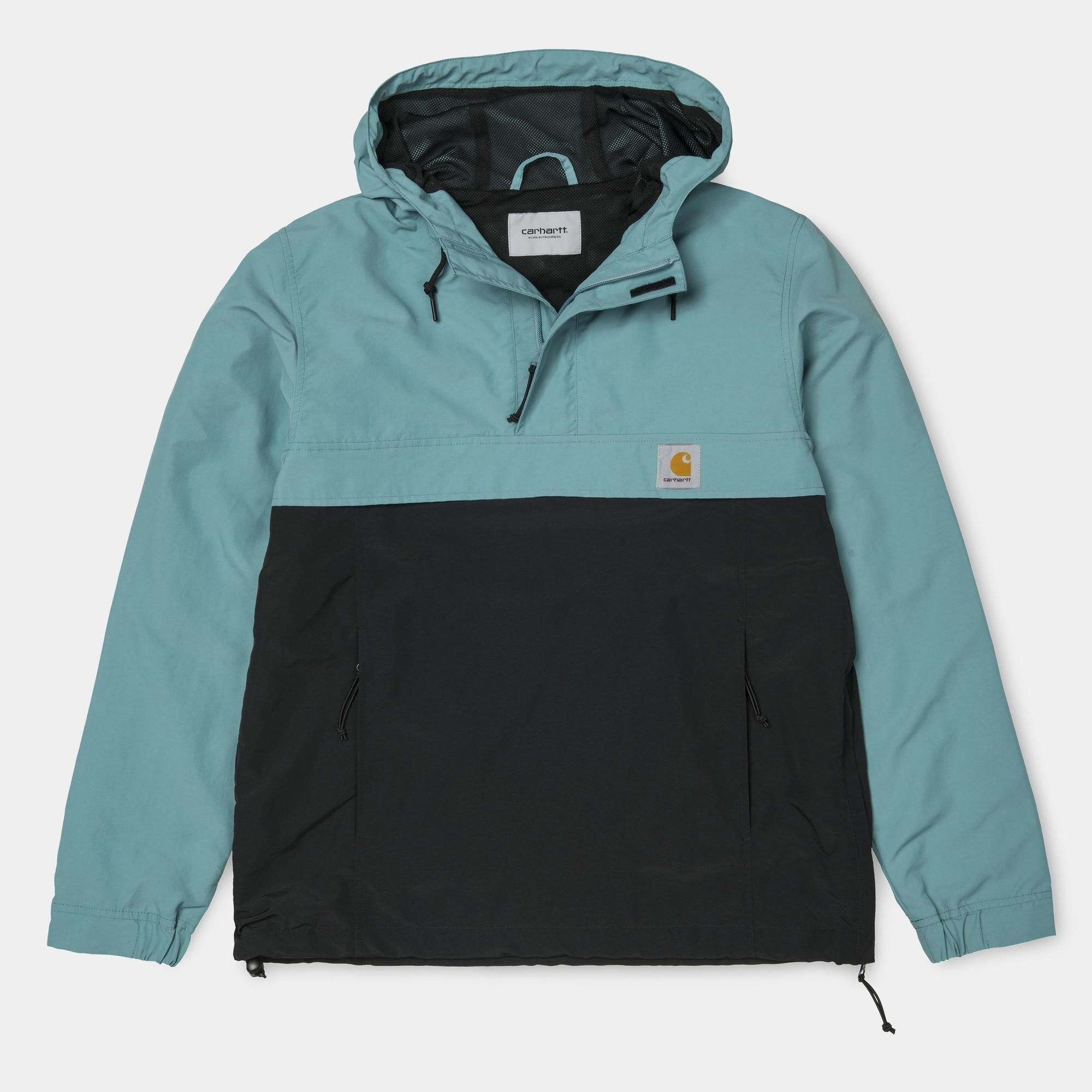 Carhartt WIP Nimbus Two Tone Pullover (Spring) | Soft Teal