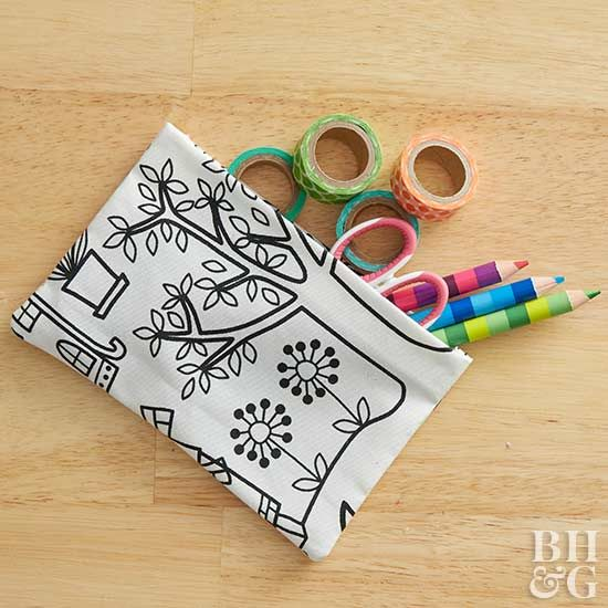 Diy Fabric Pouches, Easy Sewing