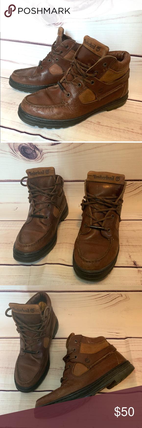 1d9fef66528 Timberland Goretex Leather Chukka Hiking Boots 7.5 Timberland 7.5 ...