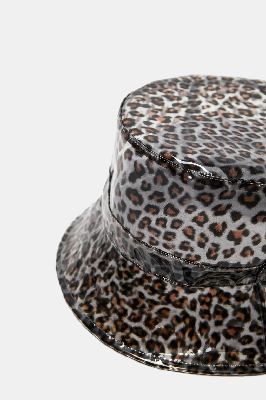 Image 3 Of Leopard Print Rain Hat From Zara Rain Hat Hats Leopard Print