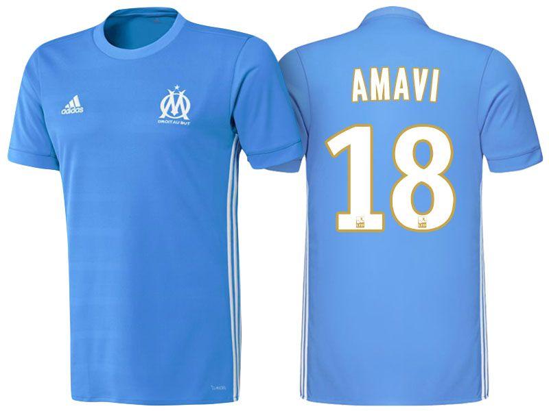 Maillot THIRD Olympique de Marseille Jordan AMAVI