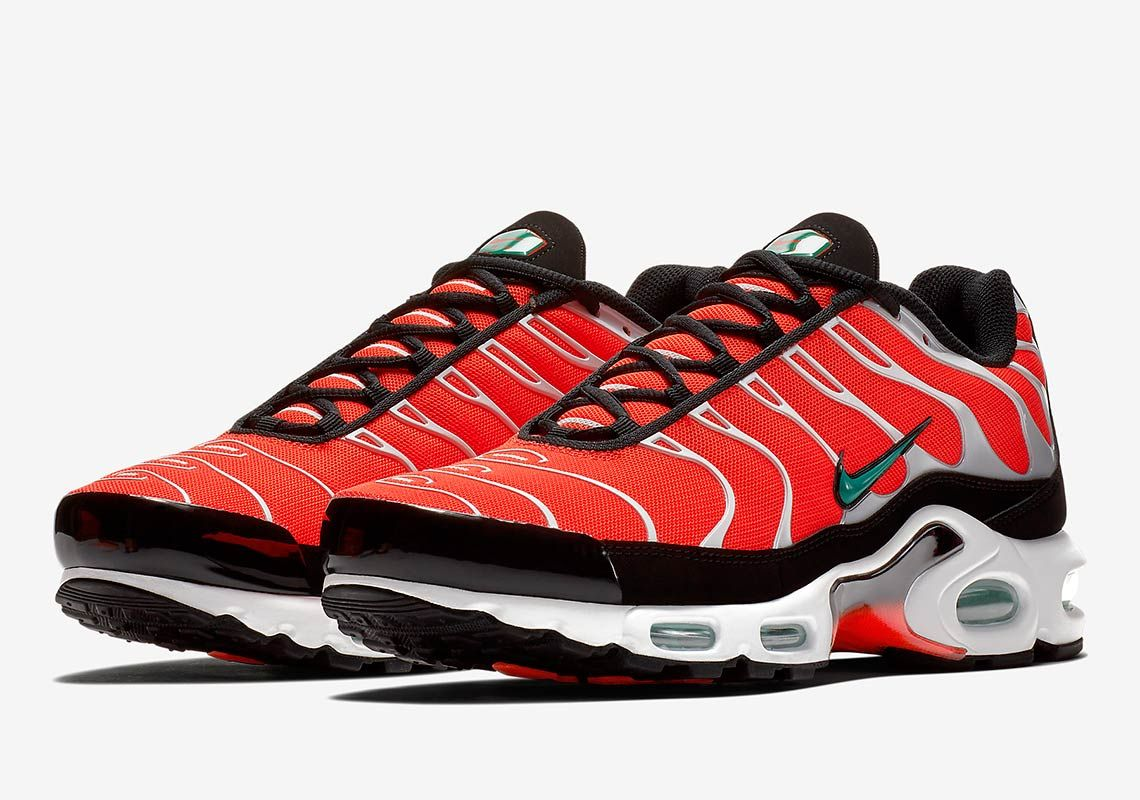 The Nike Air Max Plus Brings In Italian Colors | Nike air