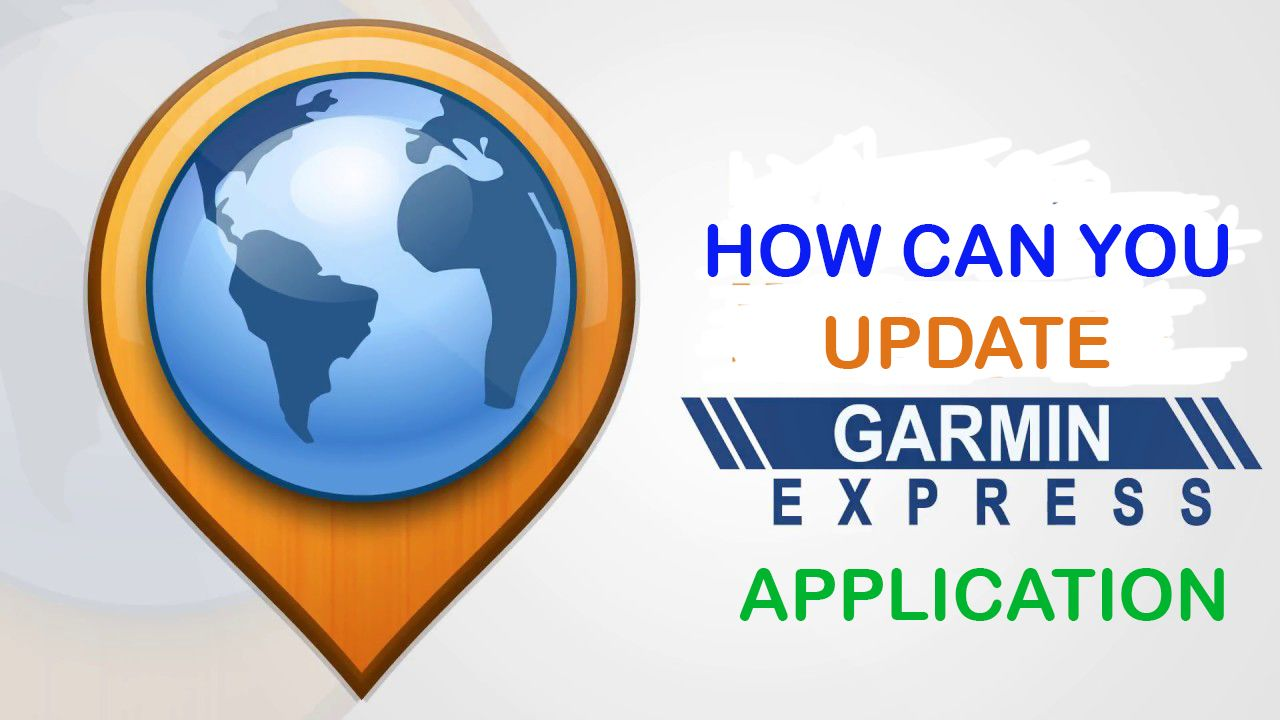 Garmin Express is an application which helps users to