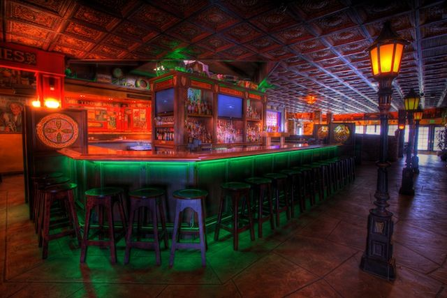 Decorating Bar Ceilings With Ceiling Tiles Bar Ceilings Irish Pub Interior Ceiling Tiles
