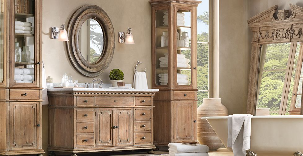 restoration+hardware+bathrooms | Beautiful Furniture | RH ...