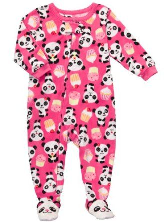 f9b3402f1 Carter s Toddler Footed Fleece Sleeper - Pandas   Cupcakes-5T ...
