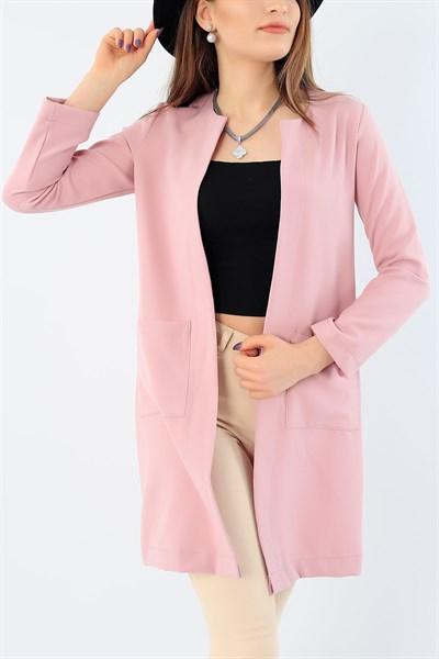 35 95 Tl Cep Detay Likrali Gul Kurusu Bayan Ceket 28757b Modamizbir 2020 Moda Mankenler Giyim