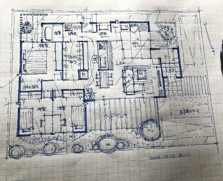 石川 元洋さんはinstagramを利用しています 65坪5人家族の平家