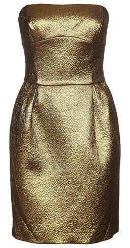 Axara Sukienka Koktajlowa Zloty Zalando Brazowy Fashion Ball Gown Dresses Clothes Design