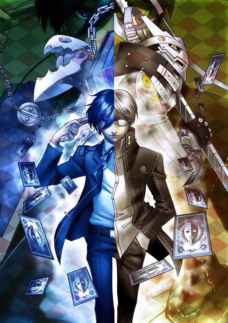 Persona 3 AND 4 most of all double games and episode there