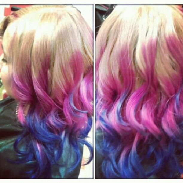 creative color ombre