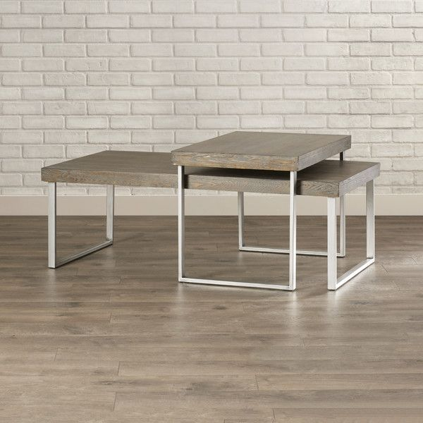 Stacy 2 Piece Nested Coffee Table Set