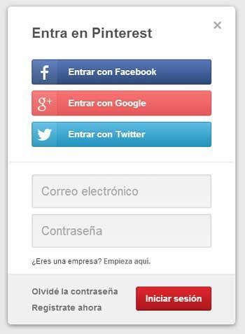 Iniciar Sesion Pinterest Pinterest Passwords Log In To Pinterest