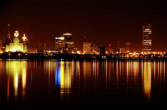Another Beautiful Night Time Image Of The Buffalo Skyline