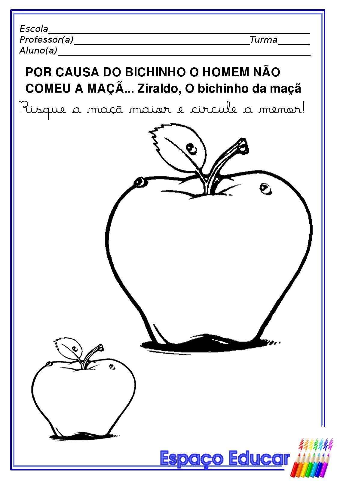 Atividade Maior Menor Conceitos Educacao Infantil Jpg 1 131 1 600