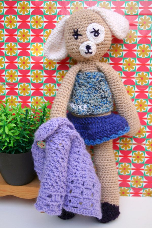 Crochet amigurumi Claire Quillier