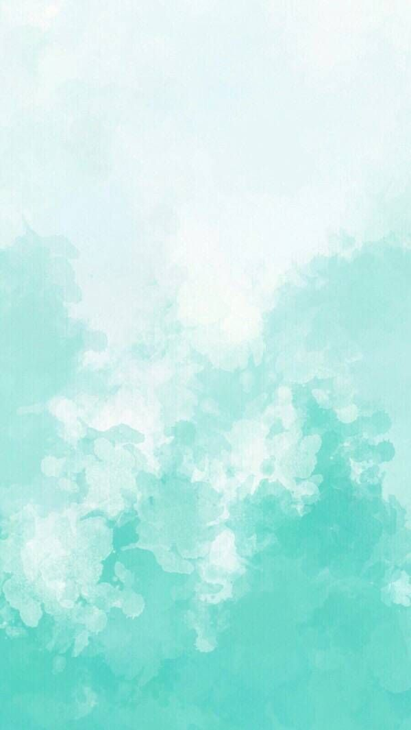Green Gradient Ink Watercolor Background In 2020 Pastel