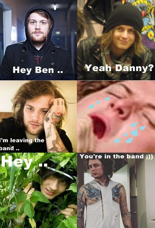 Meme Asking Alexandria And Danny Worsnop With Images Asking