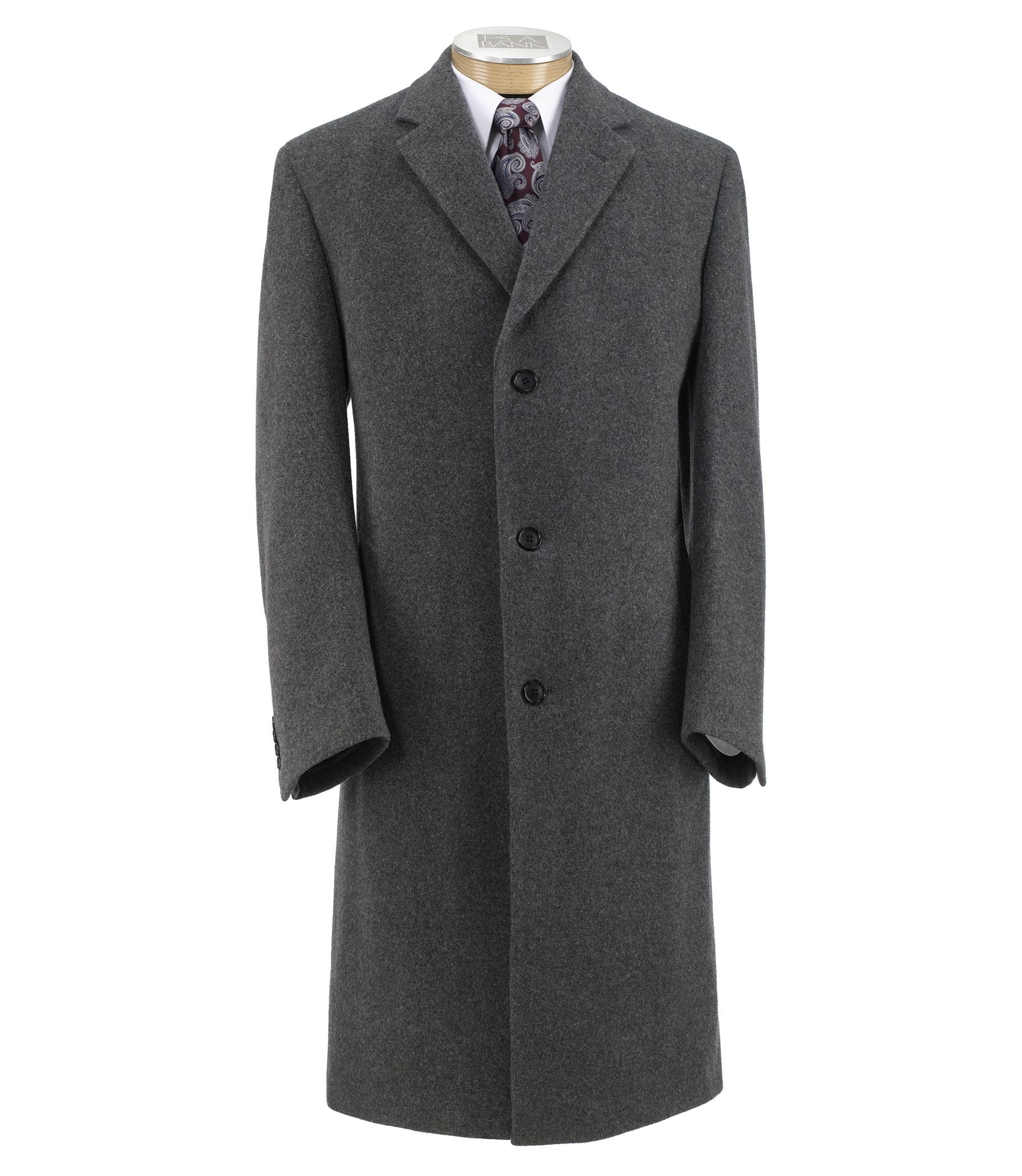 Executive Collection Traditional Fit Heathered Full Length