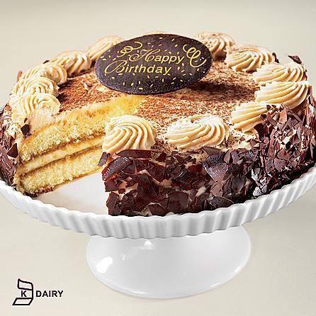 Tiramisu Classico Happy Birthday Cake Tiramisu Cake layers and