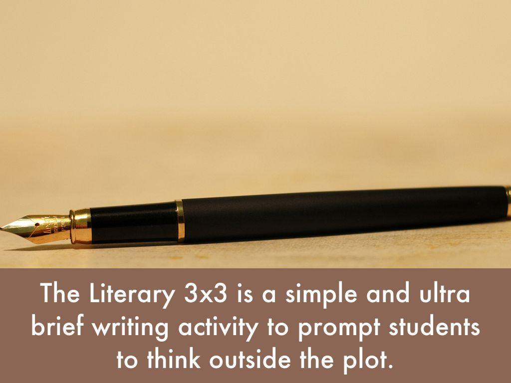 Literary 3x3 By Jhauge