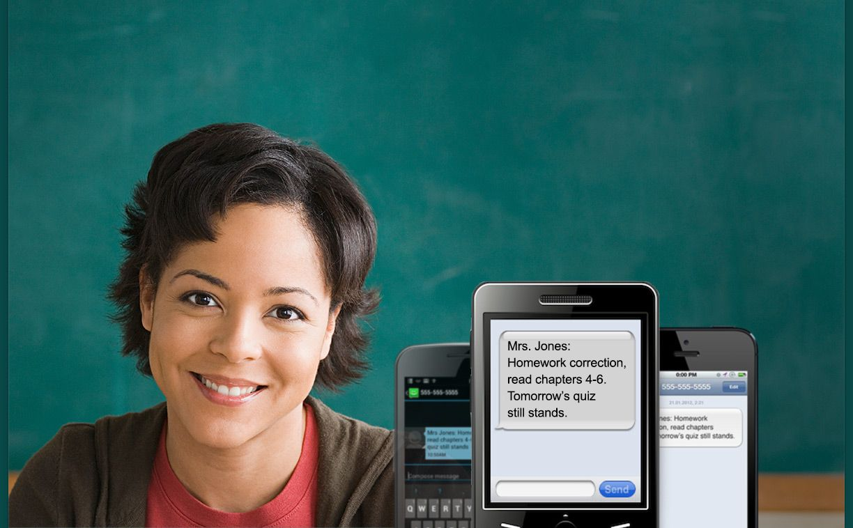 Remind 101 a safe way for teachers to privately text