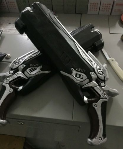 Overwatch Reaper Double Guns Cosplay Props Weapon Gun OW ...