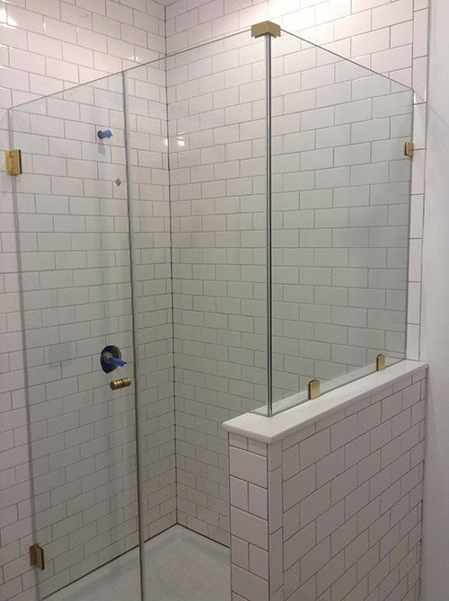 I Really Love The Transparent Look Of This Frameless Shower Door