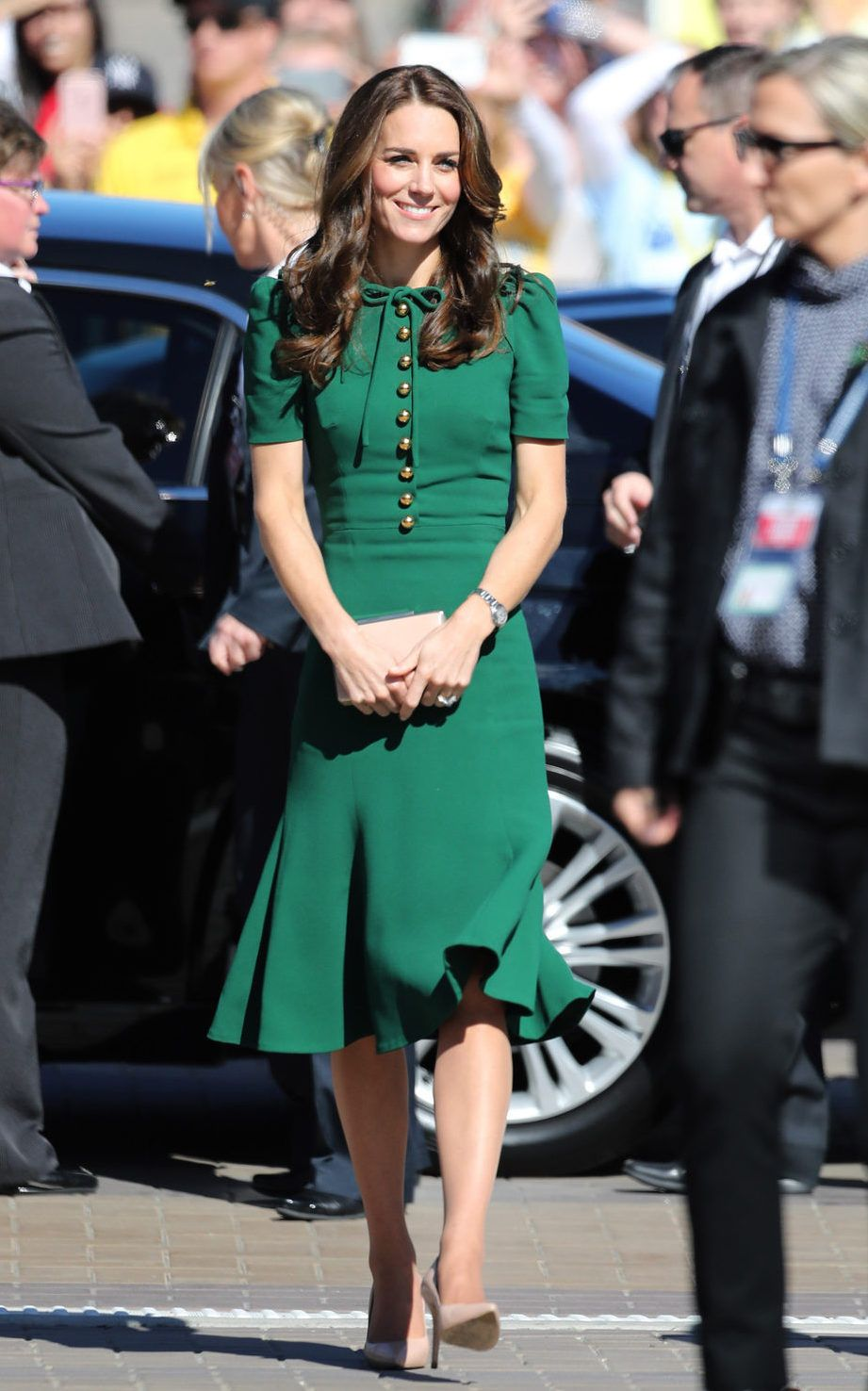 Vestido Verde Dolce Gabbana De Kate Middleton Em 2019