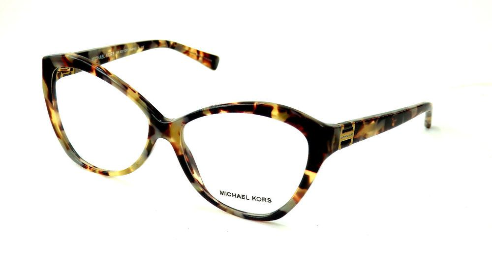 MICHAEL KORS 4001QM 3029 MADRID BROWN TORT CAT EYE EYEGLASSES FRAMES ...