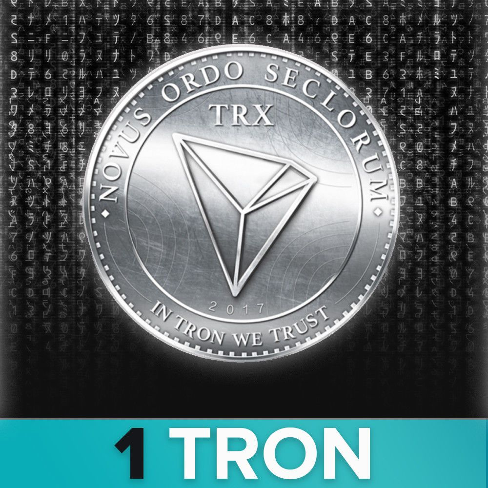 Coins 1 Tron Coin Cryptocurrency Trx Please Retweet Tron Cryptocurrency Cryptocurrency Tron