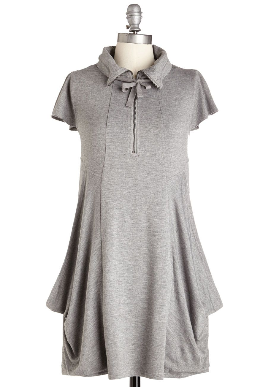 Fresh flow dress in grey discover a fresh take on casual