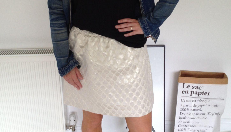Gold skirt - Hayley Southwood