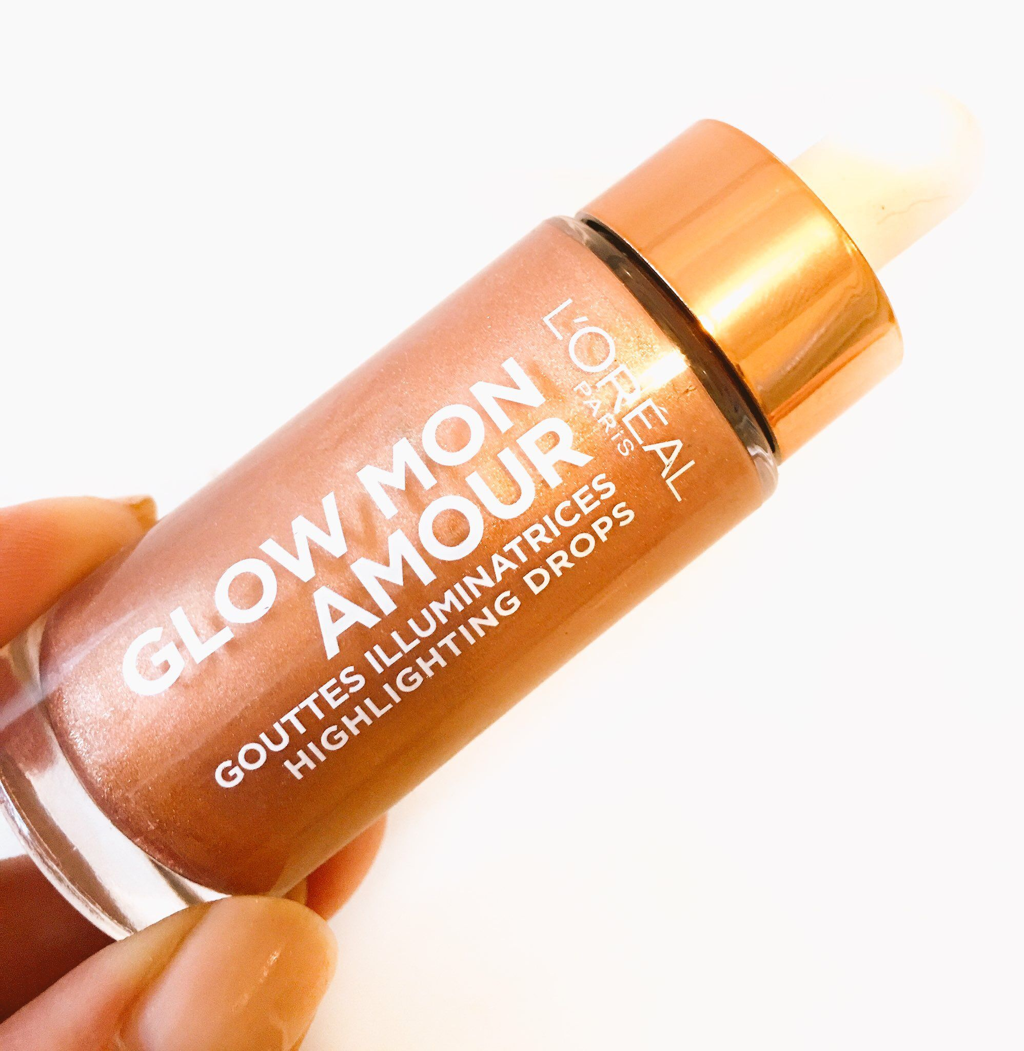L Oreal Glow Mon Amour Highlighting Drops Review Loreal Glow Natural Glow