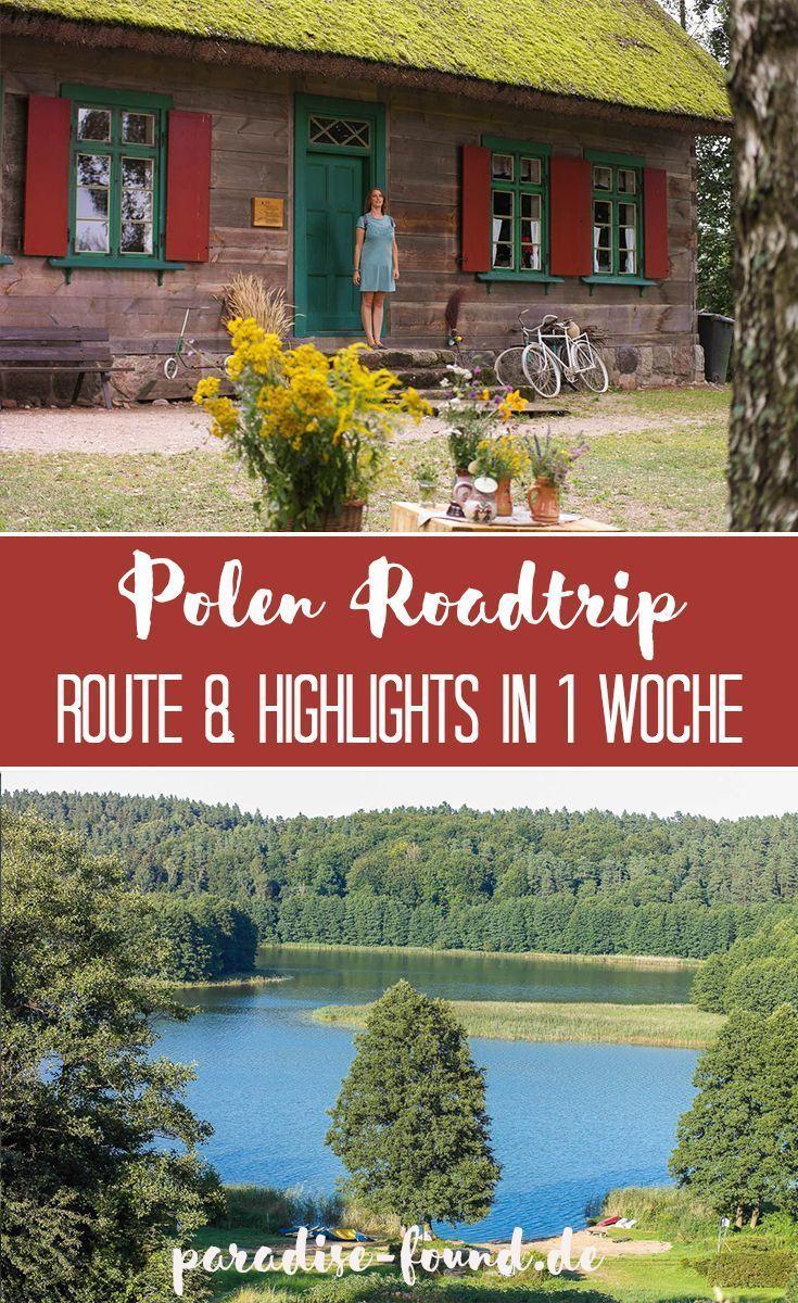 Polen Roadtrip in 1 Woche Von den Masuren zur Ostsee (mit